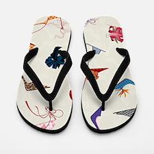 High Heels Seamless Pattern. Flip Flops