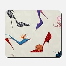 High Heels Seamless Pattern. Mousepad