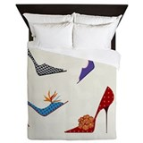 High heels Luxe Full/Queen Duvet Cover