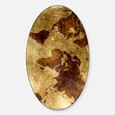 Vintage World Map Decal