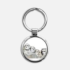 Rushmore Rock You Round Keychain