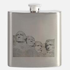 Rushmore Rock You Flask