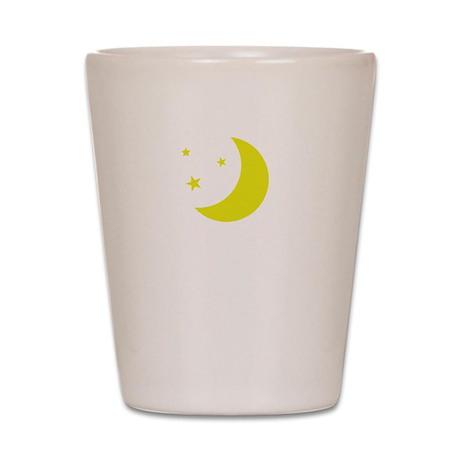Read Past Bedtime Shot Glass