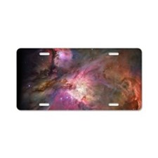 Orion Outerspace Nebula Aluminum License Plate
