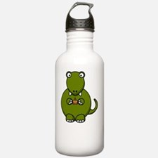 Tea Rex Dinosaur Water Bottle