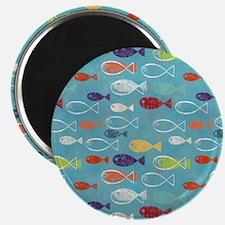 Cute Summer Beach Fish Magnet