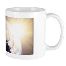 Outerspace Earth Sunset Mug