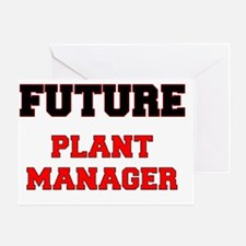 Future Plant Manager Greeting Card