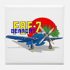 F8F-2 BEARCAT Tile Coaster