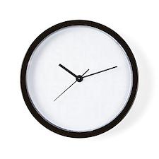 Skinny Woman Inside Wall Clock
