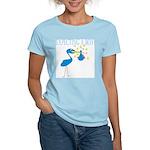 Expecting a Boy Stork Women's Light T-Shirt