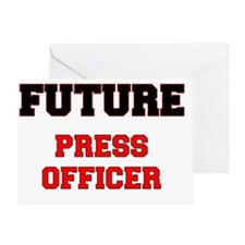 Future Press Officer Greeting Card