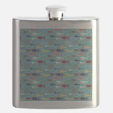 Cute Summer Beach Fish Flask
