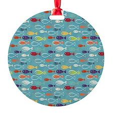 Cute Summer Beach Fish Ornament