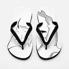 whale shark Flip Flops