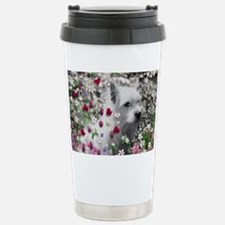Violet the White Westie Stainless Steel Travel Mug