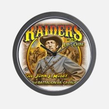 Raiders of the Lost Cause Wall Clock