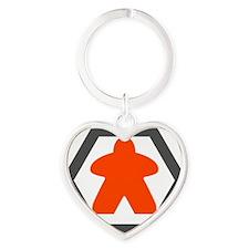 Smaller Logo - Gamers Remorse Heart Keychain