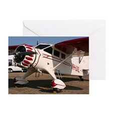 Stinson Aircraft (red & white) Greeting Card