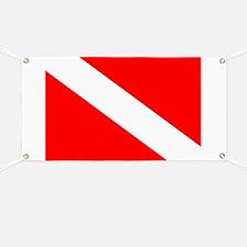 Dive Flag Banner