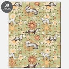 Ferrets and Flowers Puzzle