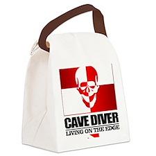 Cave Diver (Skull) Canvas Lunch Bag