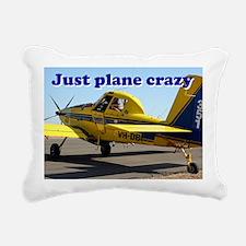 Just plane crazy: Air Tr Rectangular Canvas Pillow