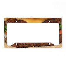 Hamburger License Plate Holder