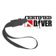 Certified Diver Luggage Tag