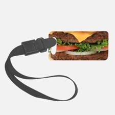 Big Juicy Hamburger Luggage Tag