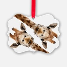 Giraffe Hangout Part 3 Ornament
