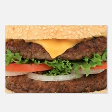 Funny Hamburger Postcards (Package of 8)