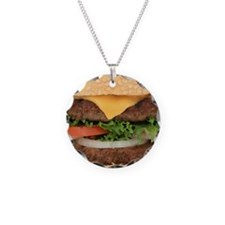 Funny Hamburger Necklace