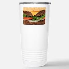 Funny Hamburger Stainless Steel Travel Mug
