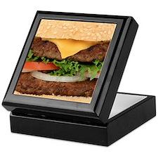 Funny Hamburger Keepsake Box