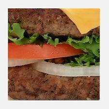 Hamburger Tile Coaster
