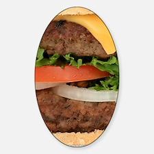 Hamburger Decal