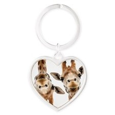 Hangover Movie Part 3 Giraffe Heart Keychain