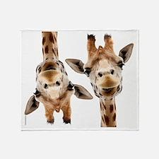 Hangover Movie Part 3 Giraffe Throw Blanket