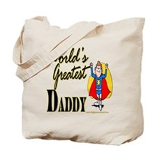 Super Daddy Tote Bag