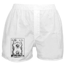 Alchemical Print from the 1700s Boxer Shorts