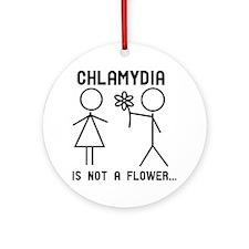 Clamydia Round Ornament