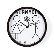 Clamydia Wall Clock