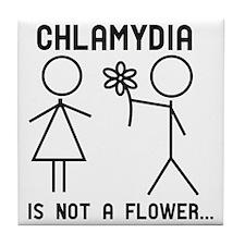 Clamydia Tile Coaster