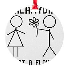 Clamydia Ornament