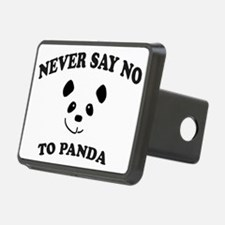 Never say no to panda Hitch Cover