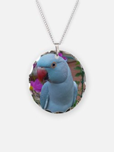 Indian Ringneck Parakeet Clo Necklace