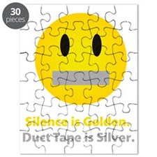 Silence is golden Puzzle