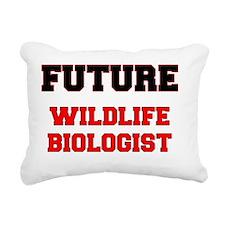 Future Wildlife Biologis Rectangular Canvas Pillow