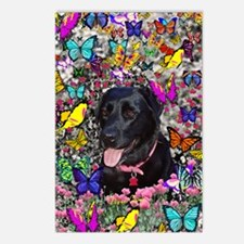 Abby the Black Lab in Flo Postcards (Package of 8)
